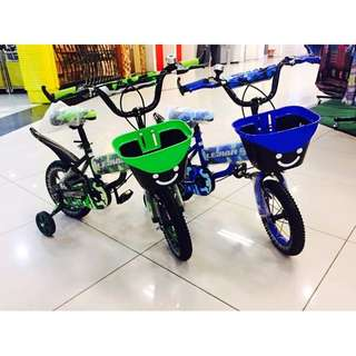"""Color 12"""" inch Air Tyre Children Bicycle Basikal Tricycle"""