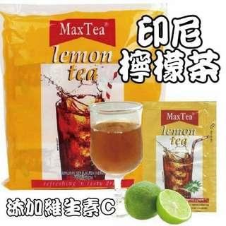 現貨-印尼 MaxTea Tarikk 檸檬紅茶 25g x 30入
