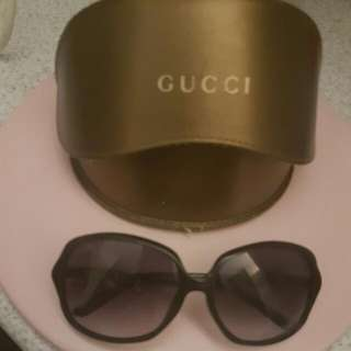 Gucci Ladies Sunglasses Bamboo Collection With Original Case