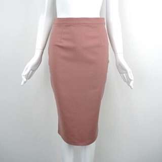 Dusty Rose Midi Skirt