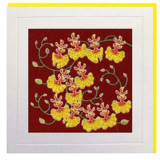 Oncidium Greeting Card