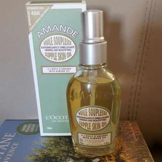 L'occitane en Provence Almond Supple Skin Oil 100ml