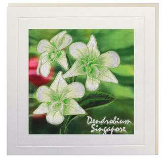 Dendrobium Singapore Greeting Card