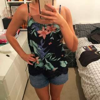 Tropical Camisole New With Tags