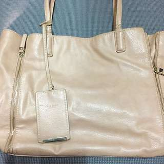 Zara Basic Soft Leather Shoulder Bag