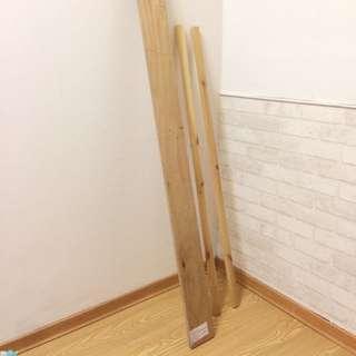松木層版+松木條