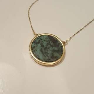 Oroton Gold & Enamel Necklace