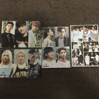 Seventeen , Bts  Photocards And Keychain