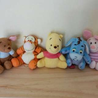 Baby Winnie the Pooh and friends