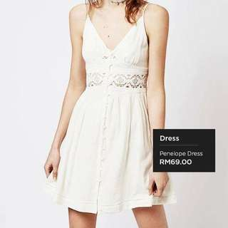 Topshop Inspired Penelope Dress