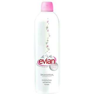 EVIAN Facial Spray 300ml Natural Mineral Water 100% Original France