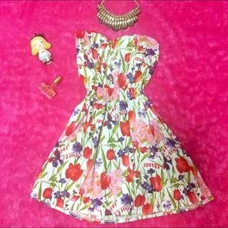 💐Floral Tube Dress 💐