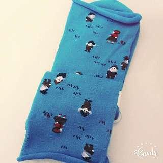 襪子 韓版 韓系 日系 白雪公主 小矮人 古著 森林系