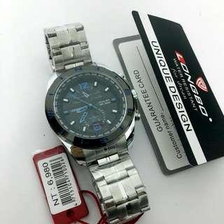 🆕🔞Original LONGBO°Authentic high-grade three-pin six-pin steel belt sports casual fashion quartz men's watches