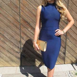 BRAND NEW! Bodycon Highneck Dress