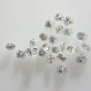 32pc Natural Diamonds 1mm VS G-H Color