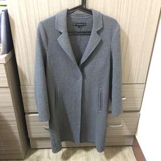 ZARA 羊毛大衣 XS號