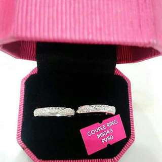 Couple Ring Authentic 925 Silver Sterling