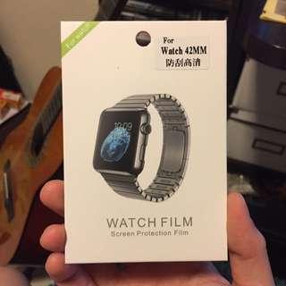 免費!apple Watch 42mm防刮高清貼 #marchsale