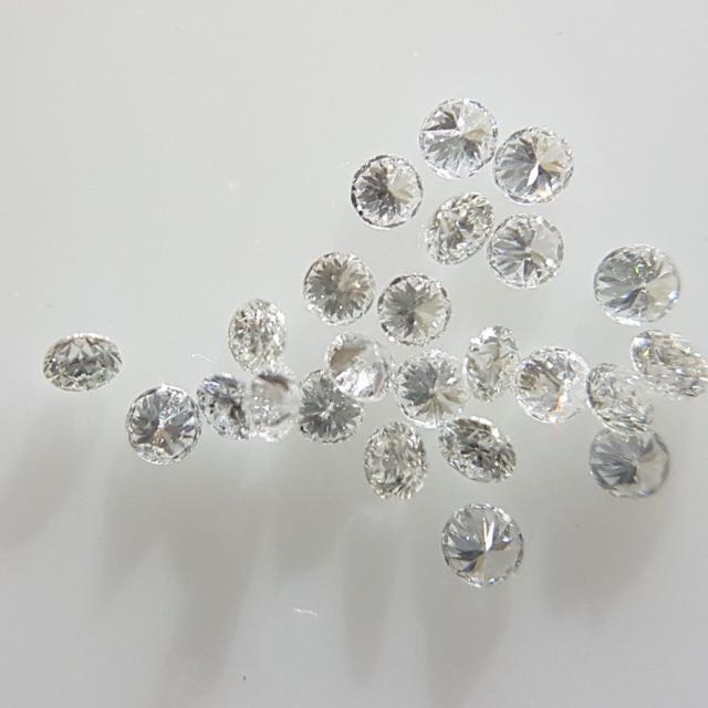 32pc Natural Diamonds 1mm VS G-H Color