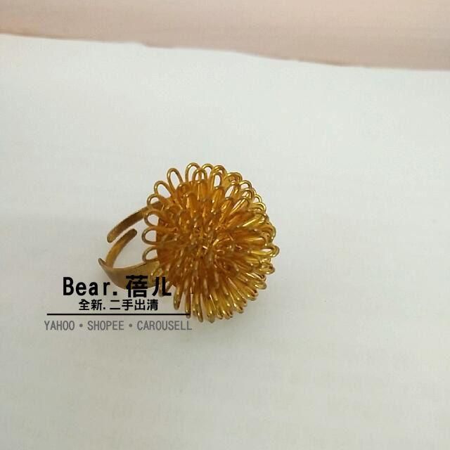 全新 ❤金戒指~韓國帶回 女戒指 韓國飾品 配件 造型戒子