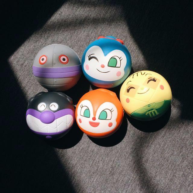 日本 麵包超人 造型 捏捏球 幼兒 安全 玩具 人氣 商品 捏捏樂 出氣包 出氣球 捏捏球 日本代購 代購 扭蛋 轉蛋 食玩