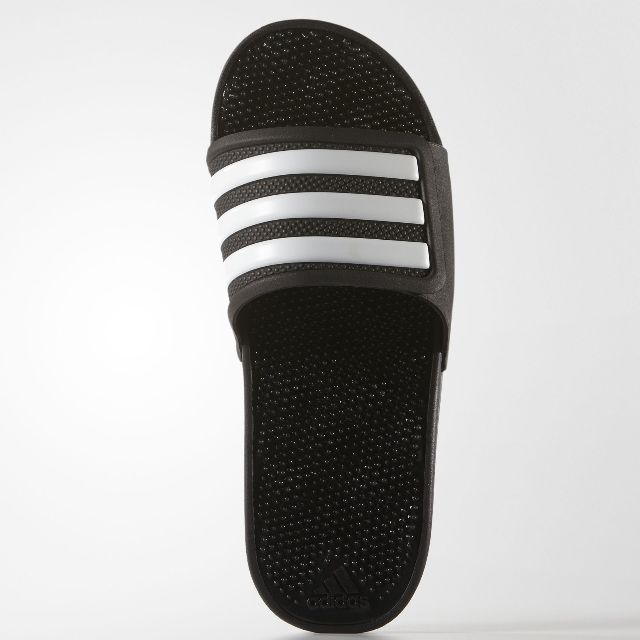 7fb4063c6e6c ADIDAS ADISSAGE 2.0 3 STRIPES BLACK SLIPPERS