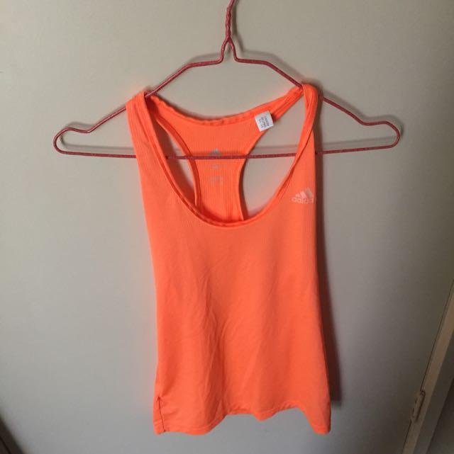 Adidas Tank Top Orange
