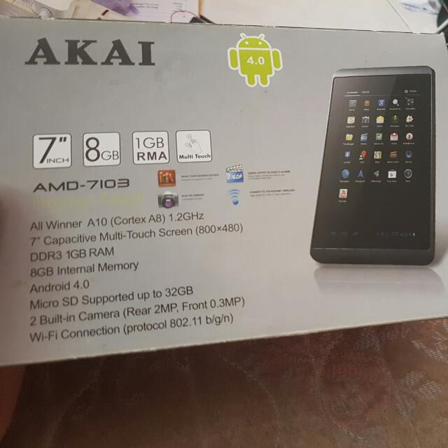 Akai Tablet