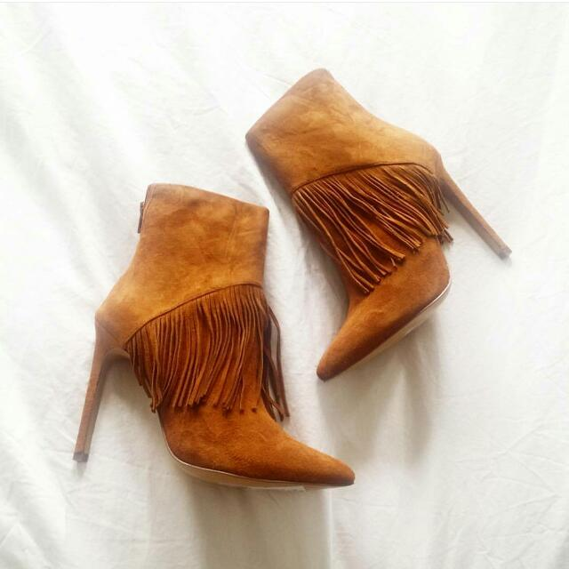 Anika Ankle Boots - Siren Shoes