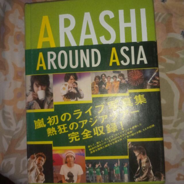 Arashi Around Asia Photobook