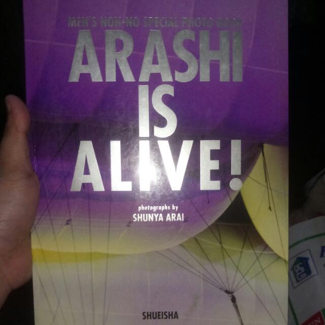 Arashi Is Alive! Photobook