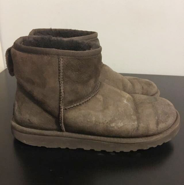 Authentic Brown Uggs Size 8