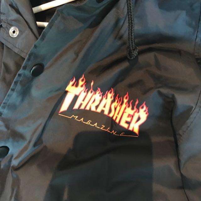 AUTHENTIC THRASHER RAIN JACKET