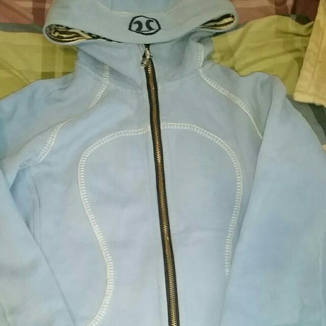 Baby Blue Lululemon hoodie