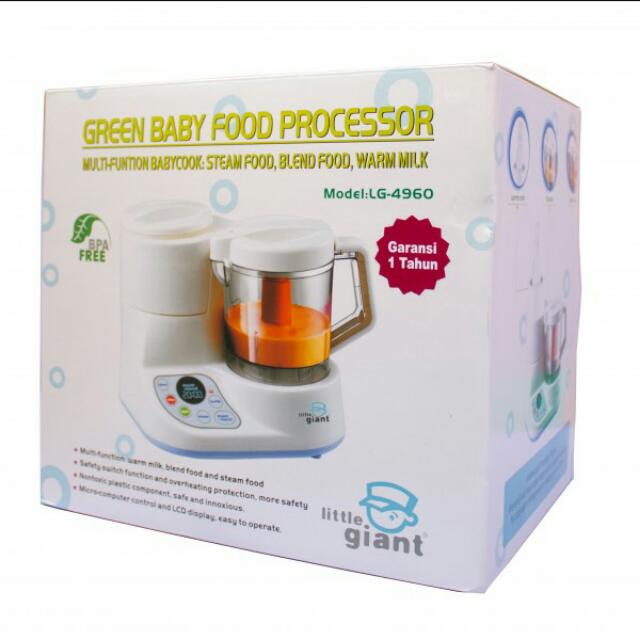 Baby Food Processor And Steamer Little Giant