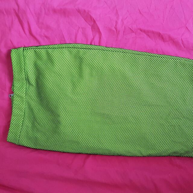 Bardot Green Long Skirt