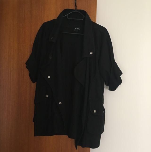 Bardot Military Black Jacket