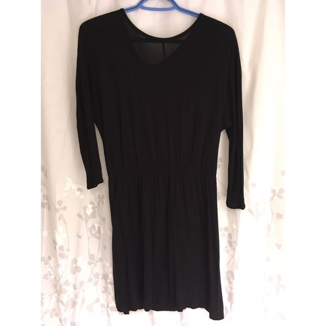 Basic Black Jersey Dress