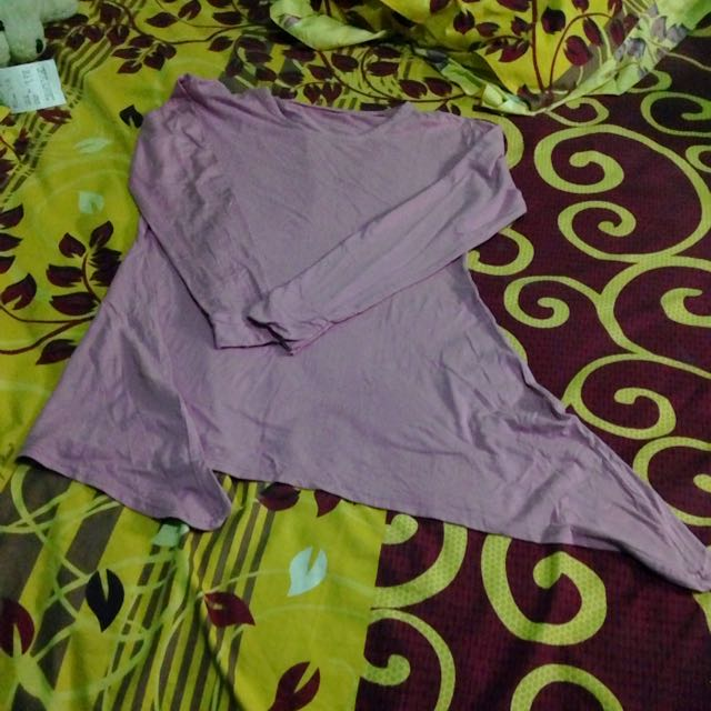 Blouse Long Sleeve Pink