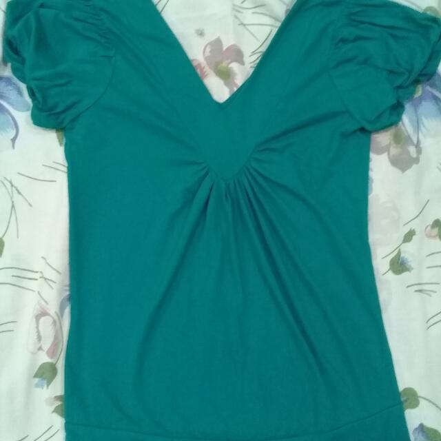 Bluegreen Balloon Sleeves