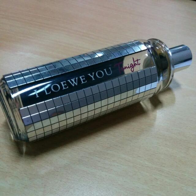 Botol Parfum I Loewe You Tonight