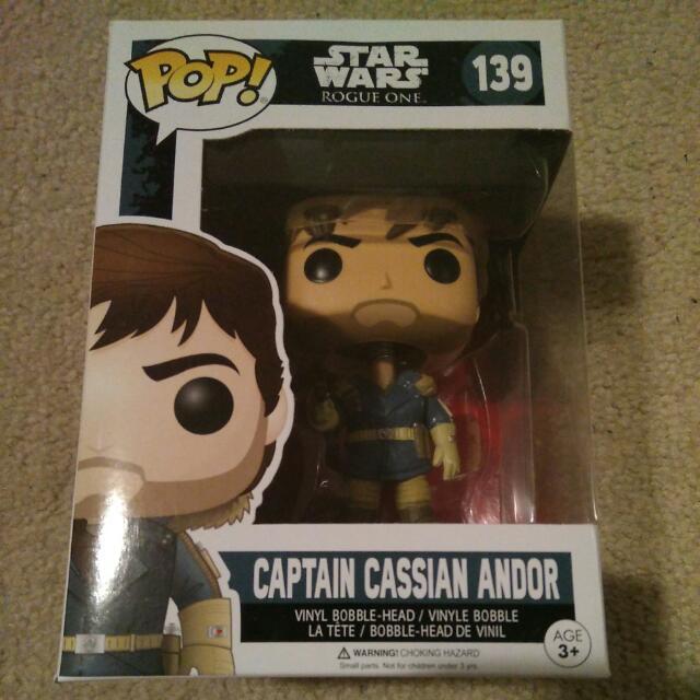 Brand New Captain Cassian Andor STAR WARS Rogue One Funko POP Figure