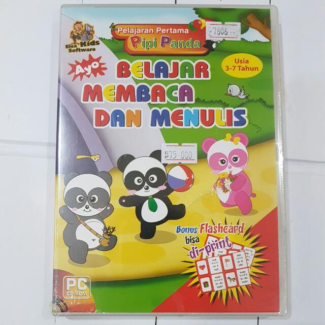CD Elex Kids Software 3-7 Tahun