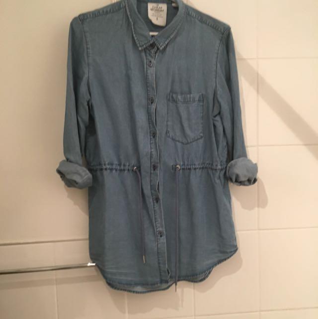 Cheap Monday Chambray Shirt- Small