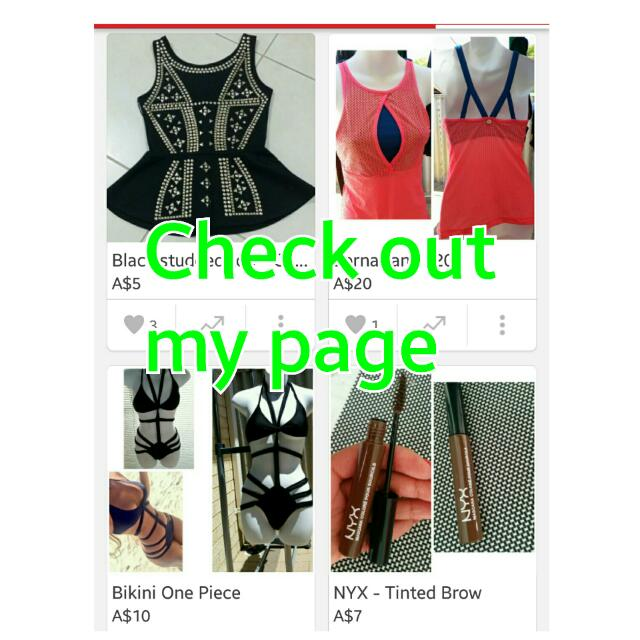 👯👯check Out My Page Ladies ✌✌