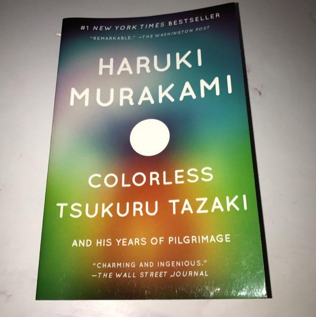 Colorless Tsukuru Tazaki-Haruki Murakami