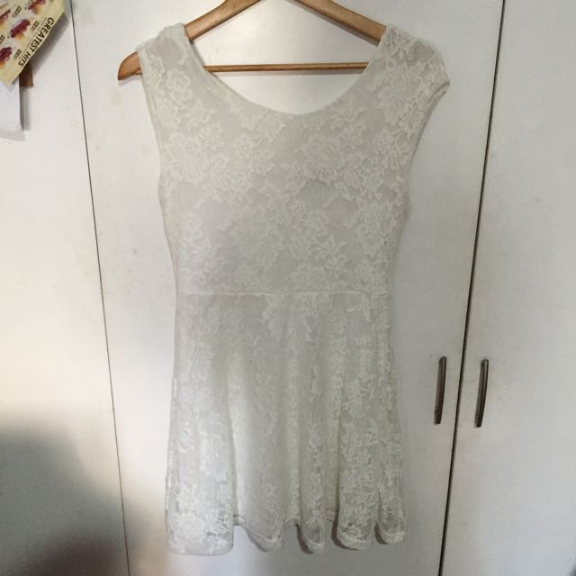 Cotton On Low Back Lace Dress