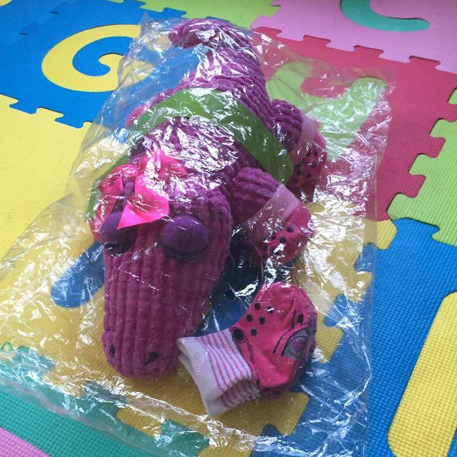 Crocs Stuffed toy w/ Socks