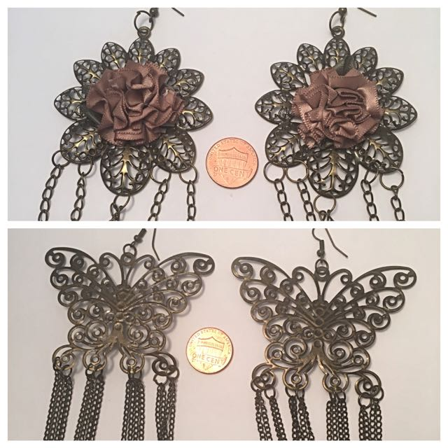 Earrings From Lima, Peru